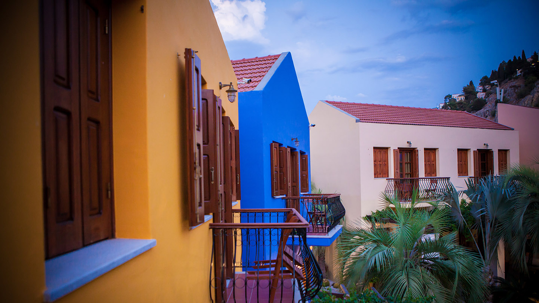 συμη ξενοδοχεια προσφορες - Iapetos Hotel